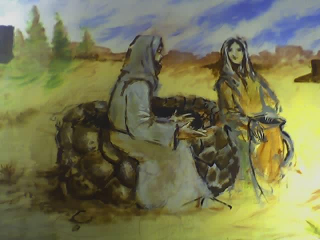 Samaritan Woman Jesus at the Well'